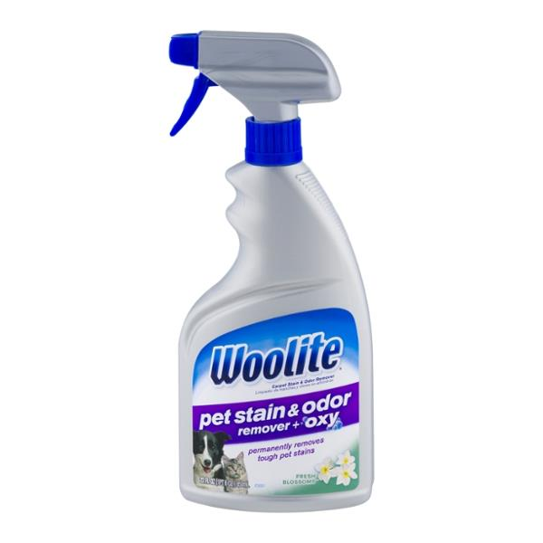 Dog Urine Carpet Stain Removal: Woolite Carpet Cleaner Pet Stain & Odor Remover + Oxy