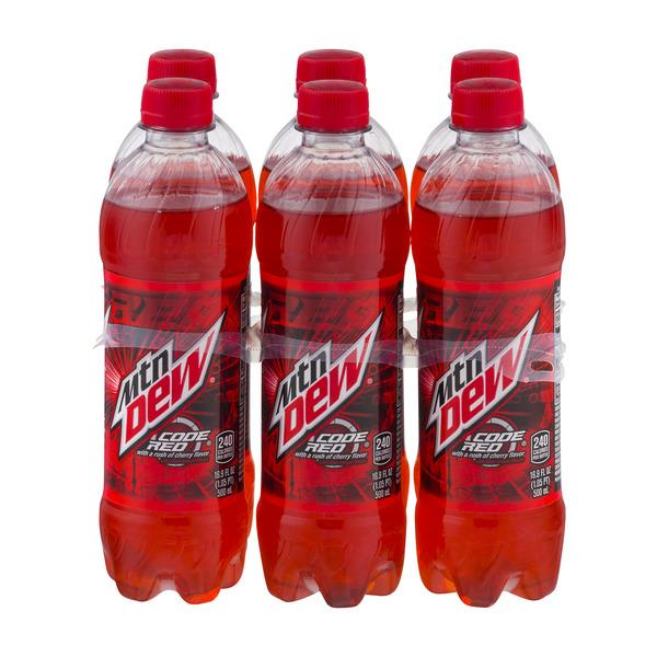Mountain Dew Code Red 6 Pack