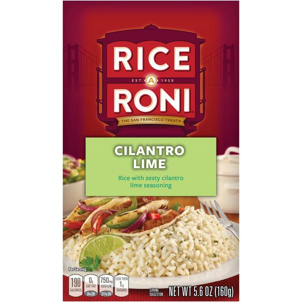 Rice-A-Roni Cilantro Lime