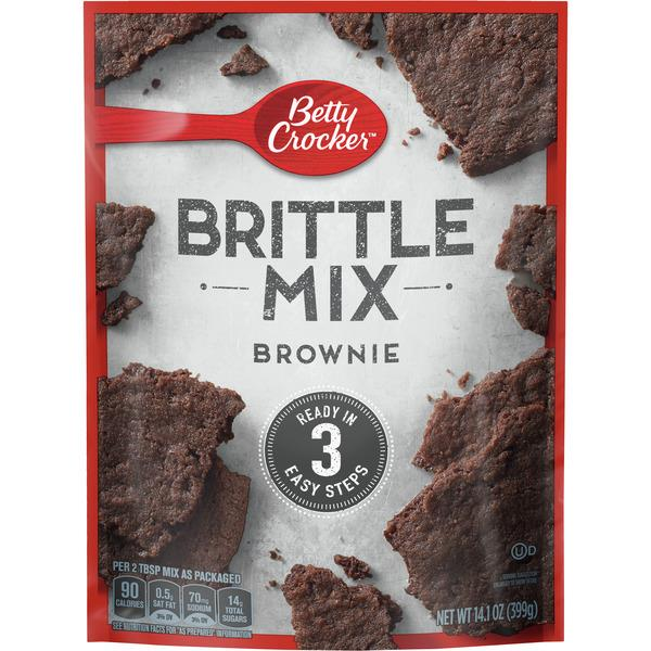 Betty Crocker Brittle Mix, Brownie