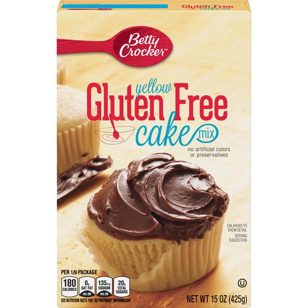 Betty Crocker Yellow Cake Mix Nutrition Facts