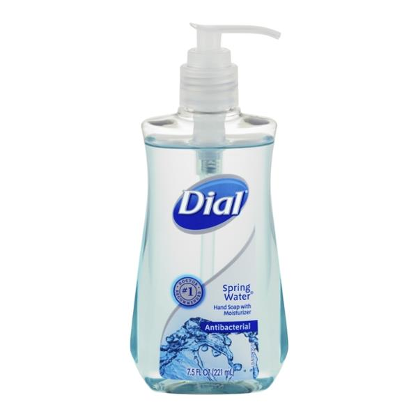 Dial Spring Water Antibacterial Hand Soap With Moisturizer