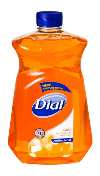 Dial Gold Antibacterial Hand Soap With Moisturizer Refill