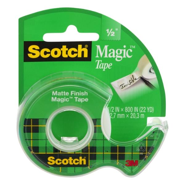 Scotch Magic Tape 1/2""