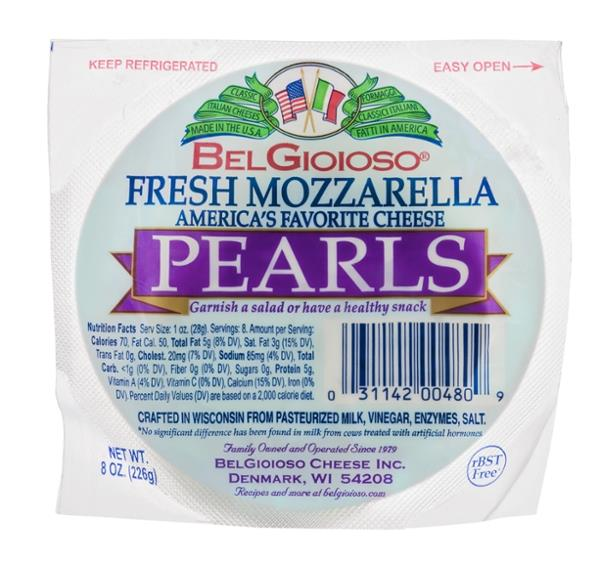 BelGioioso Fresh Mozzarella Pearls