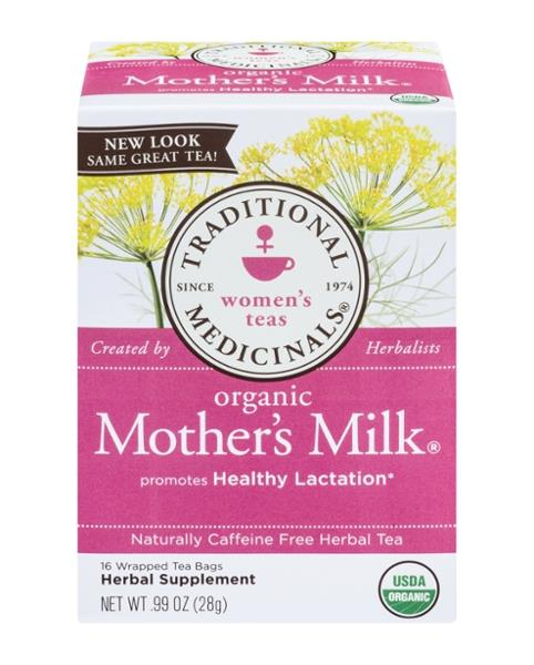 Traditional Medicinals Women's Tea Organic Mother's Milk 16Ct