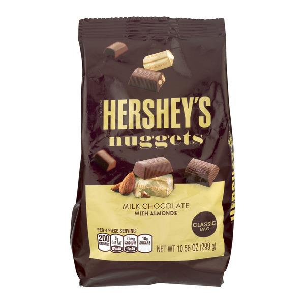 Hershey S Dark Chocolate Nuggets With Almonds Ingredients
