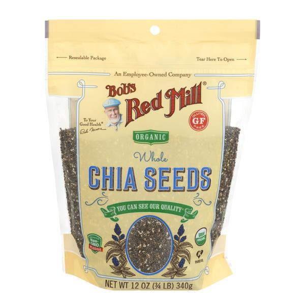 Bob's Red Mill Organic Gluten Free Whole Chia Seeds