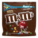 M&M's Milk Chocolate Candies Party Size Stand-Up Bag