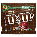 M&M's Milk Chocolate Family Size Resealable Zipper