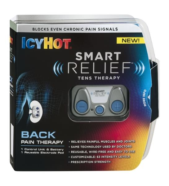 Icy Hot SmartRelief Tens Therapy Pain Reliever Kit