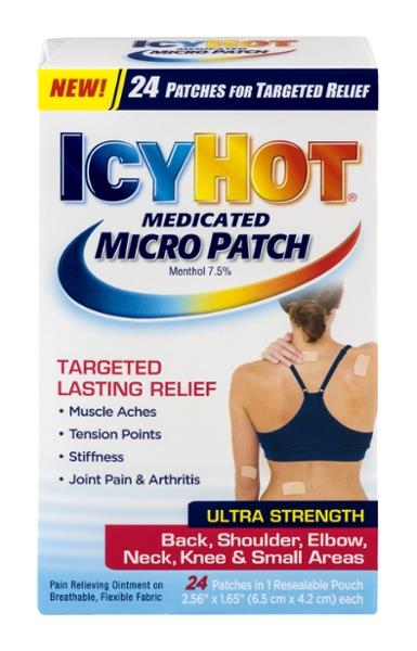 Icy Hot Medicated Micro Patch Ultra Strength