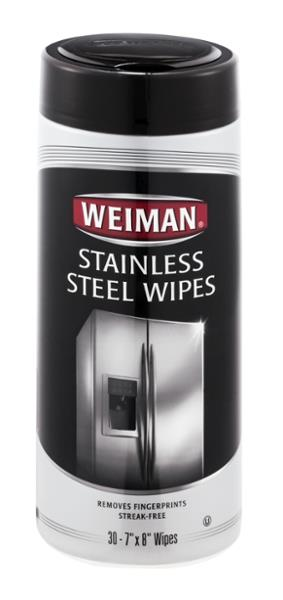 Weiman Stainless Steel Wipes - 30 CT