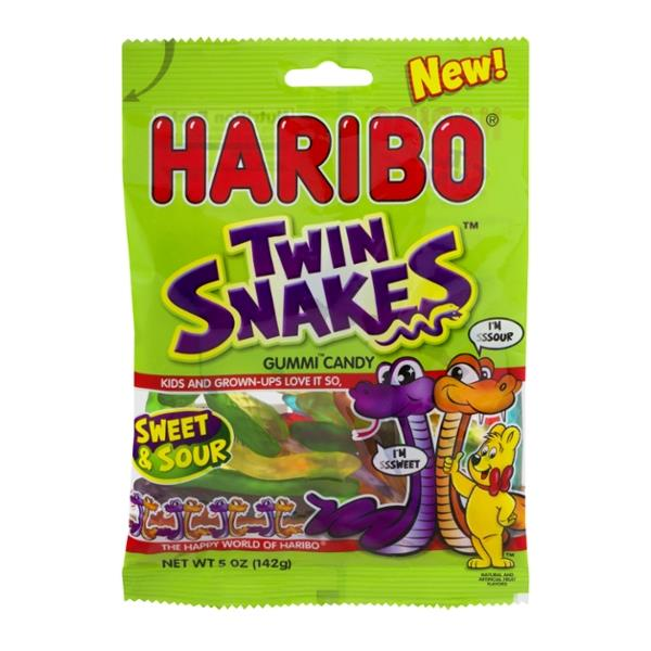 Haribo Twin Snakes Sweet & Sour