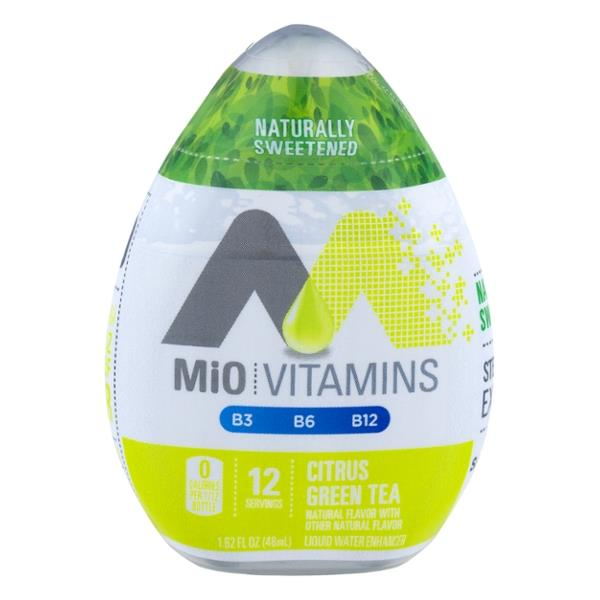 Mio Vitamins Citrus Green Tea Liquid Water Enhancer Hy Vee Aisles Online Grocery Shopping