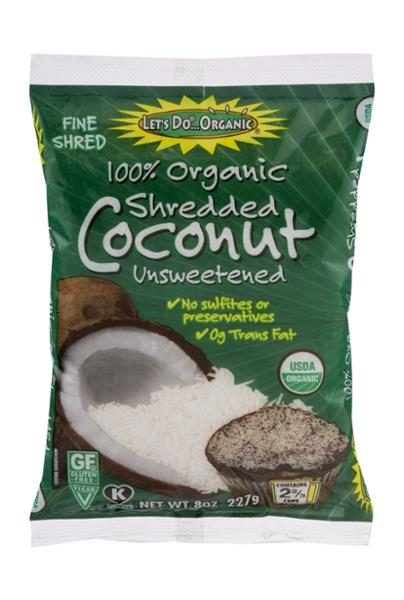 Let's Do...Organic 100% Organic Shredded Coconut Unsweetened