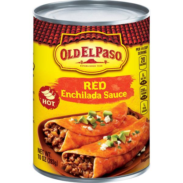 Old El Paso Hot Red Enchilada Sauce