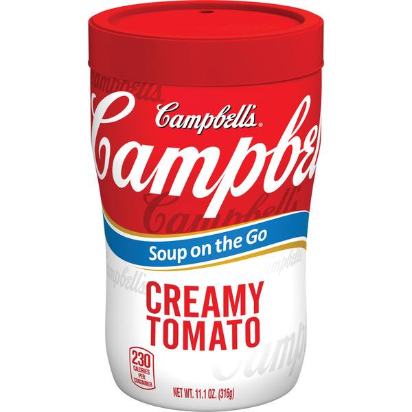 Campbell's Soup on the Go Creamy Tomato