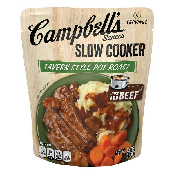 Campbell's Tavern Style Pot Roast Slow Cooker Sauces