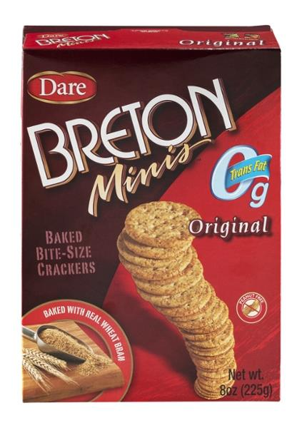Dare Breton Original Bites Bite-Size Crackers