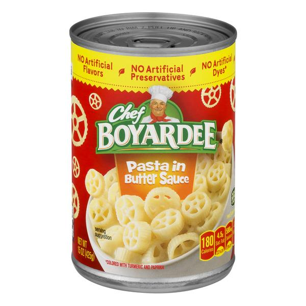 Chef Boyardee Pasta in Butter Sauce