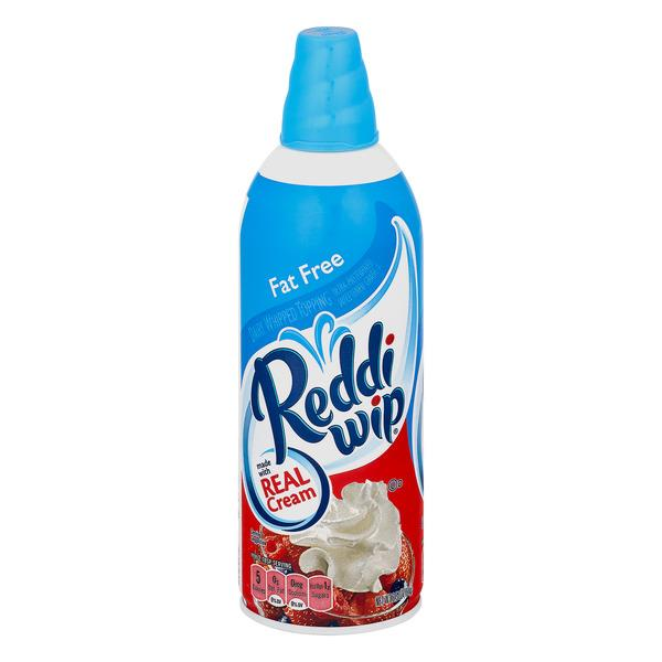 Reddi Wip Fat Free Dairy Whipped Topping
