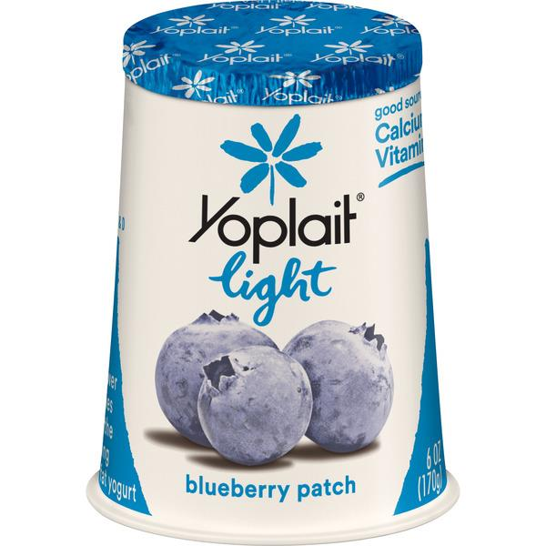 Yoplait Light Blueberry Patch Fat Free Yogurt