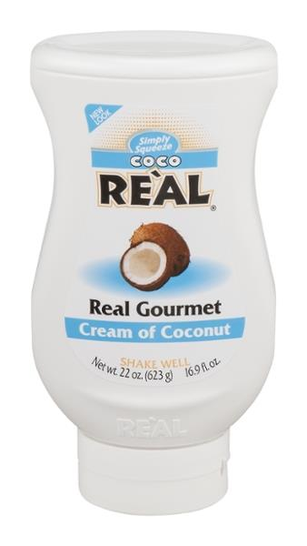 Simply Squeeze Coco Real Cream Of Coconut