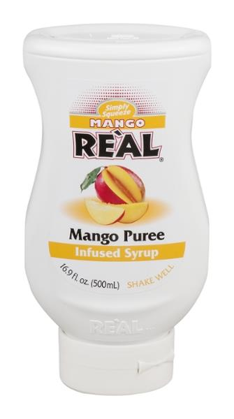 Simply Squeeze Real Infused Syrup Mango Puree
