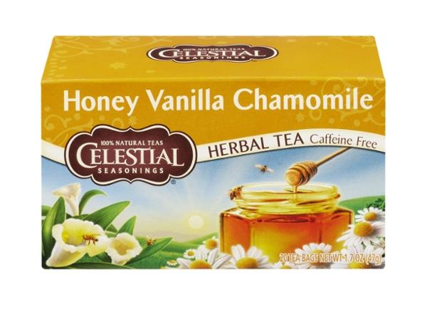 Celestial Seasonings Herbal Tea Caffeine Free Honey Vanilla Chamomile 20 Count