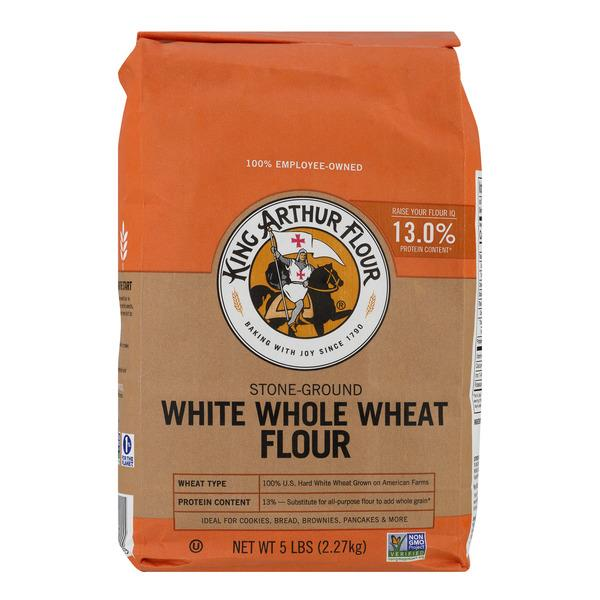 King Arthur Flour Stone Ground White Whole Wheat Flour