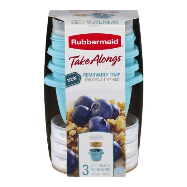 Rubbermaid Take Alongs With Removable Tray