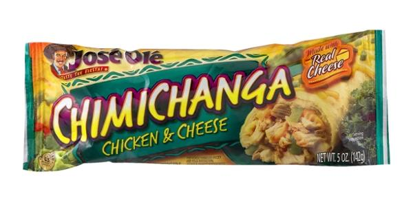 Jose Ole Chicken & Cheese Chimichanga