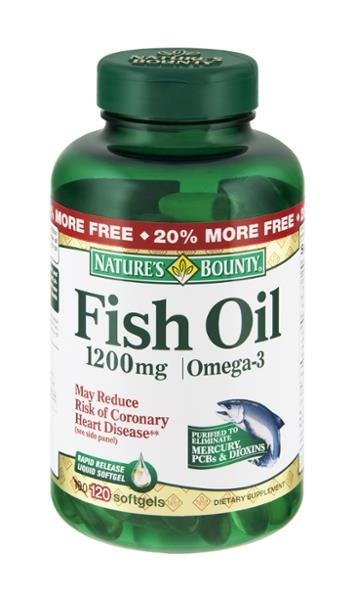 Nature S Bounty Fish Oil Ingredients