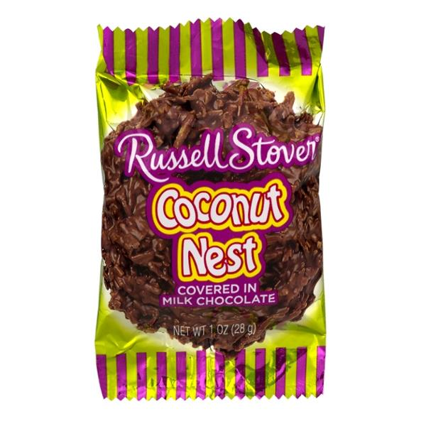 Russell Stover Coconut Nest Covered In Milk Chocolate