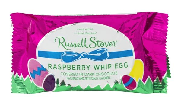 Russell Stover Raspberry Whip Egg in Dark Chocolate