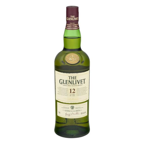 The Glenlivet 12 Years of Age Single Malt Scotch Whisky