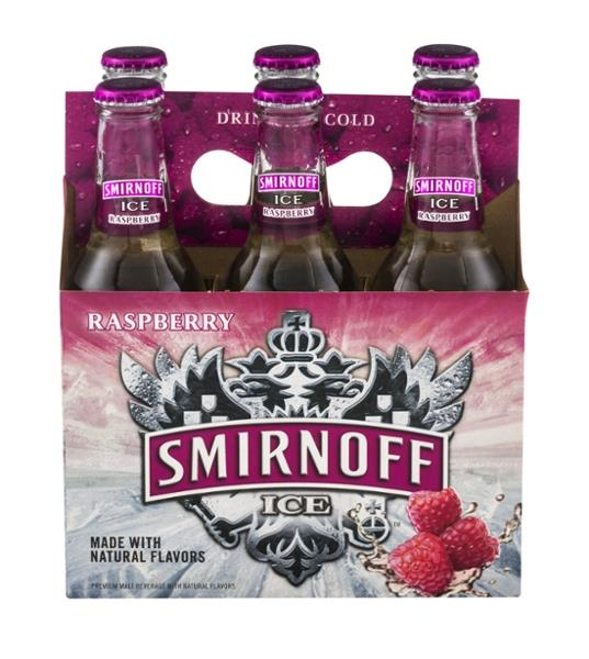 Smirnoff Ice Raspberry 6 Pack