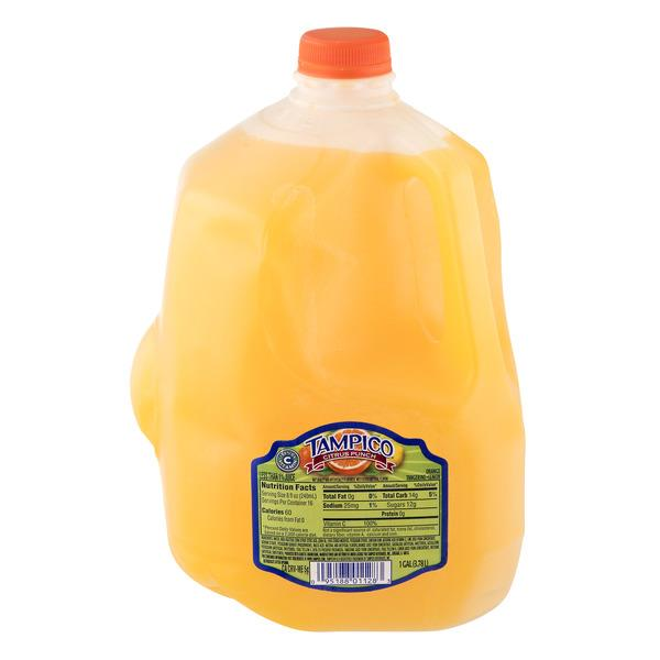 Tampico Citrus Punch Orange Tangerine Lemon