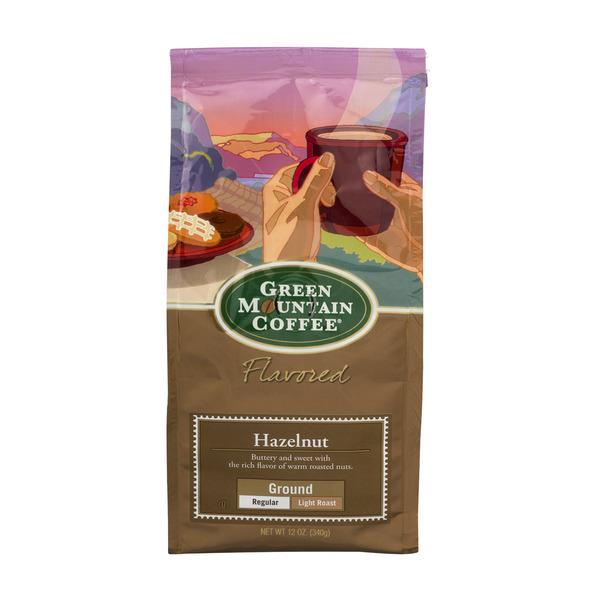 Green Mountain Coffee Hazelnut Light Roast Ground