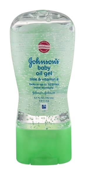 how to make baby oil gel
