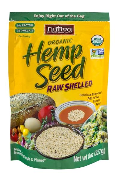 Nutiva Organic Superfood Hempseed Raw Shelled