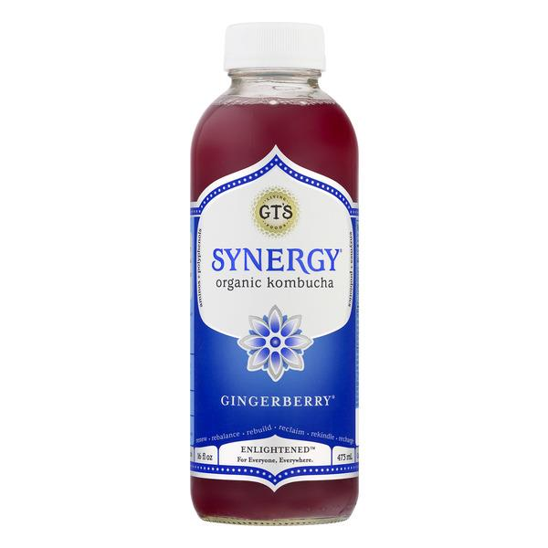 Synergy Organic & Raw Gingerberry Juice