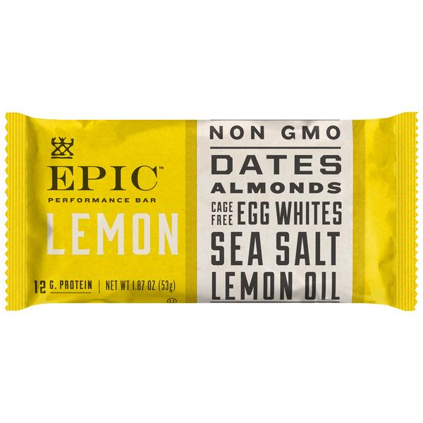 Epic Lemon Performance Bar