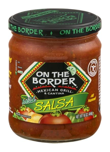 On The Border Salsa Mild