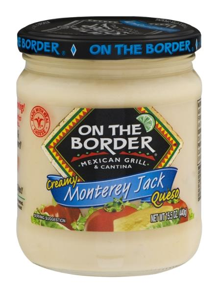 On The Border Monterey Jack Queso
