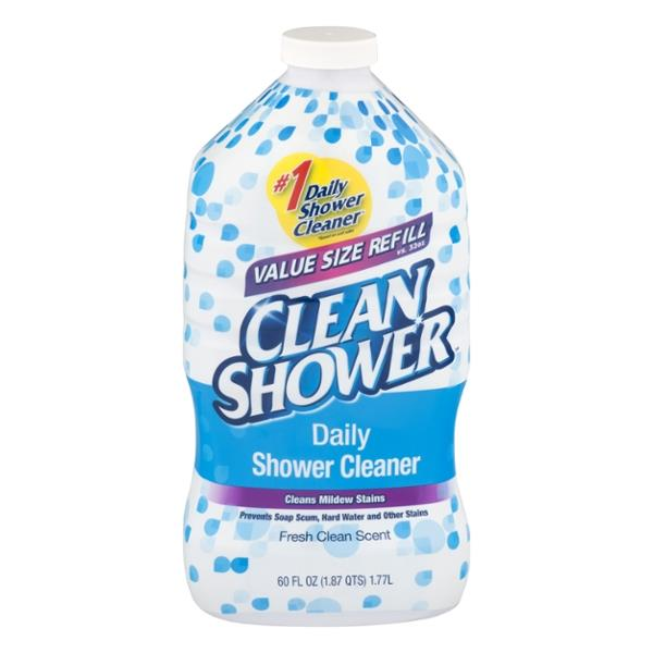 Clean Shower Daily Shower Cleaner Fresh Clean Scent Refill | Hy ...