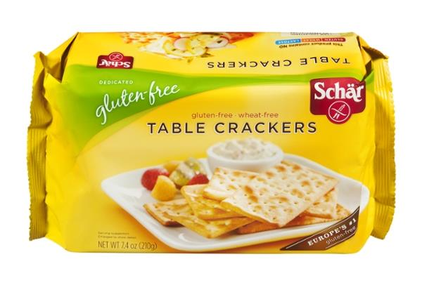 Schar gluten free table crackers hy vee aisles online for Table 52 gluten free