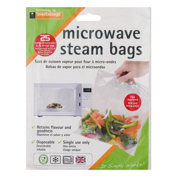 QuickaSteam Microwave Steam Bags
