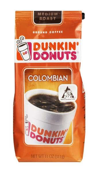Dunkin Donuts Colombian Ground Coffee Colombian Medium Roast